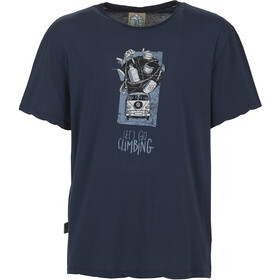 E9 Lez T-shirt Herrer, blue navy